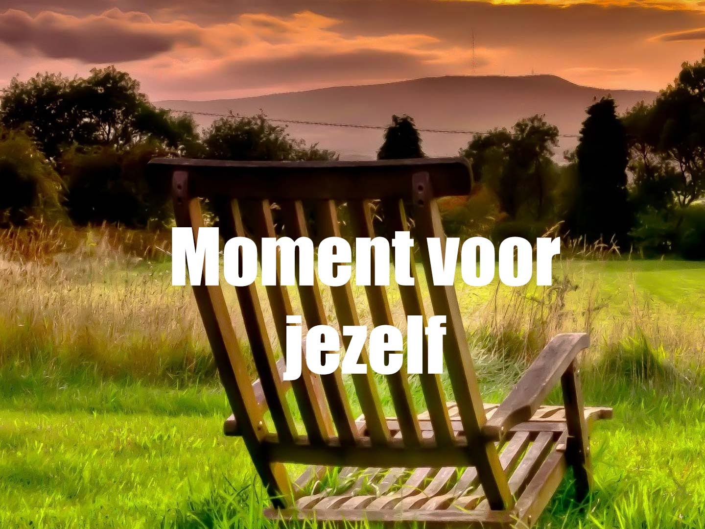 moment voor jezelf, burn-out